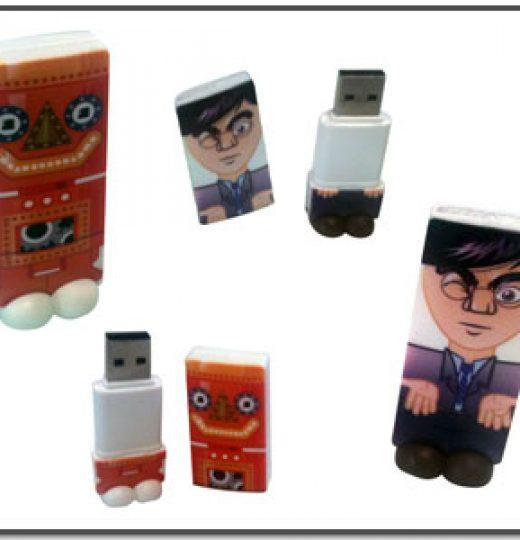 Clés USB «personnages»