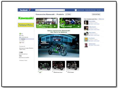 Application FaceBook Concession