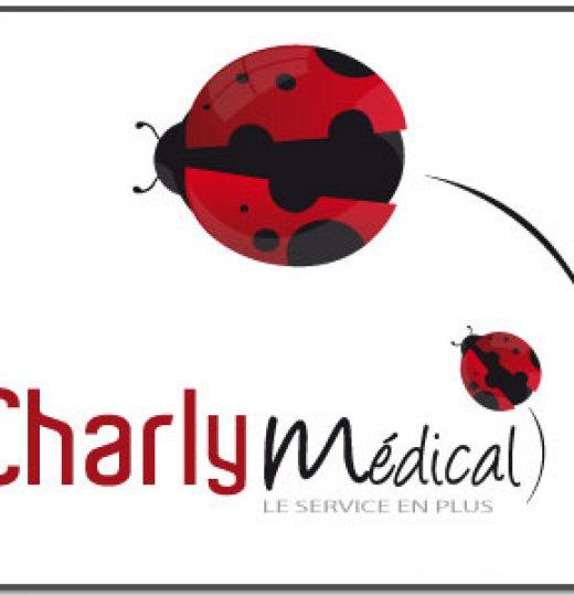 Identité visuelle de Charly Médical