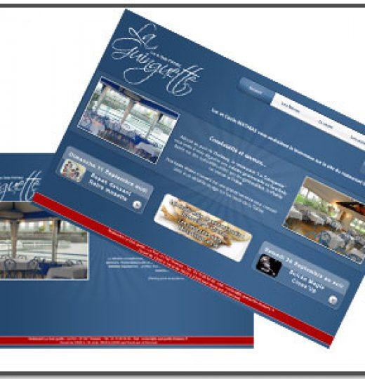 Site du Restaurant La Guinguette